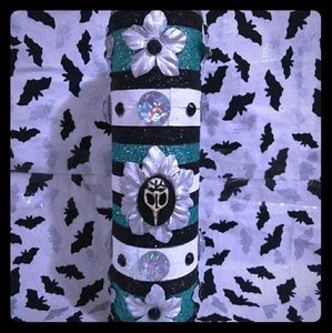 Pastel Goth Death Plague Mask Candle